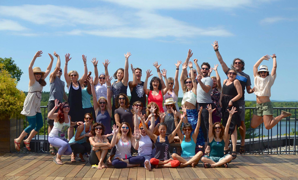 Fluid Yoga sangha is like family. Check out our graduates.